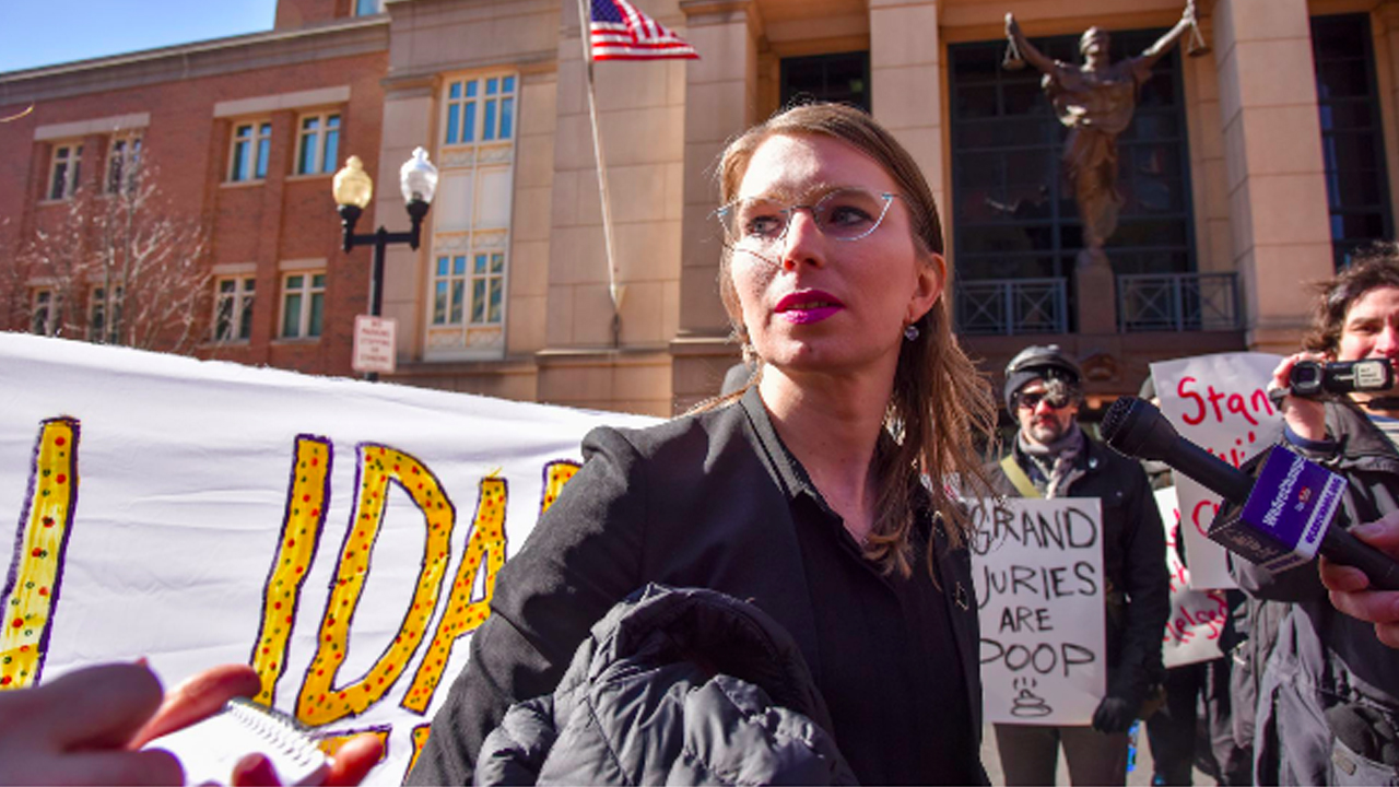 Chelsea Manning Back in Prison After Refusing to Testify
