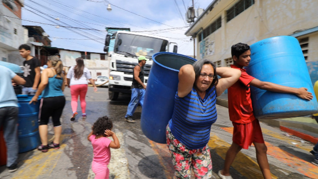 US Sanctions Leave Millions of Venezuelans Without Water