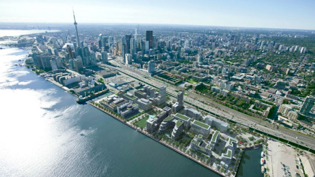 Toronto Residents Face Off Against Google over Waterfront 'Smart City'