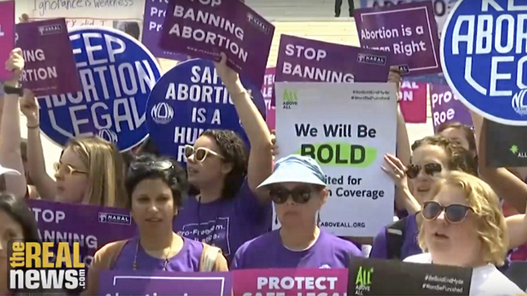 Activists Push Back Against Conservative Threat to Safe and Legal Abortion