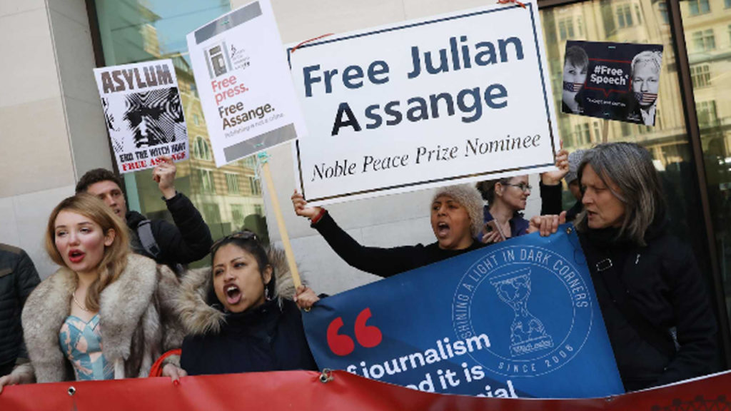UN Torture Expert Says Assange Is Victim of Psychological Torture