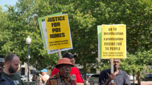 Advocates Rally To Help Baltimore Public Housing Residents Left Without Water for A Week