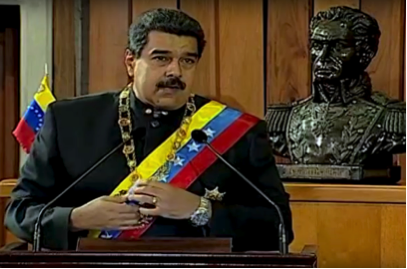 Nicolás Maduro, president of Bolivarian Republic of Venezuela, Photo Wikipedia