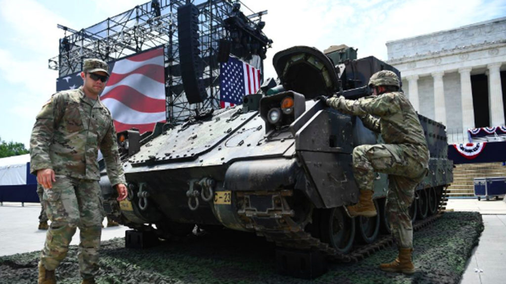 Tanks Roll into D.C. to Celebrate Independence Day