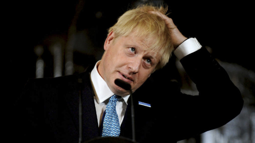How Do You Confront Prime Minister Boris Johnson?