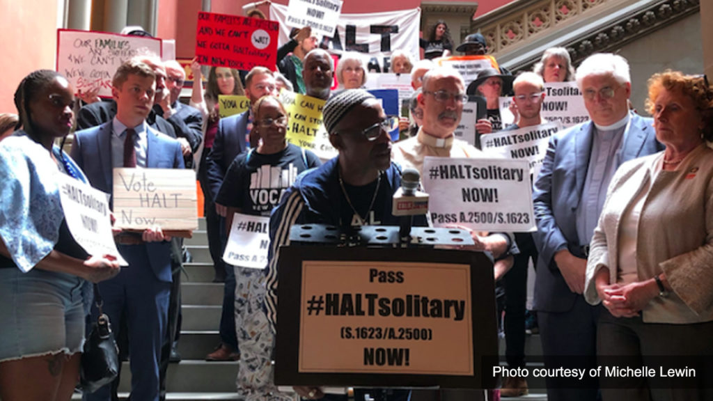 Victor Pate Leads Hunger Strike for Solitary Confinement Reform in New York