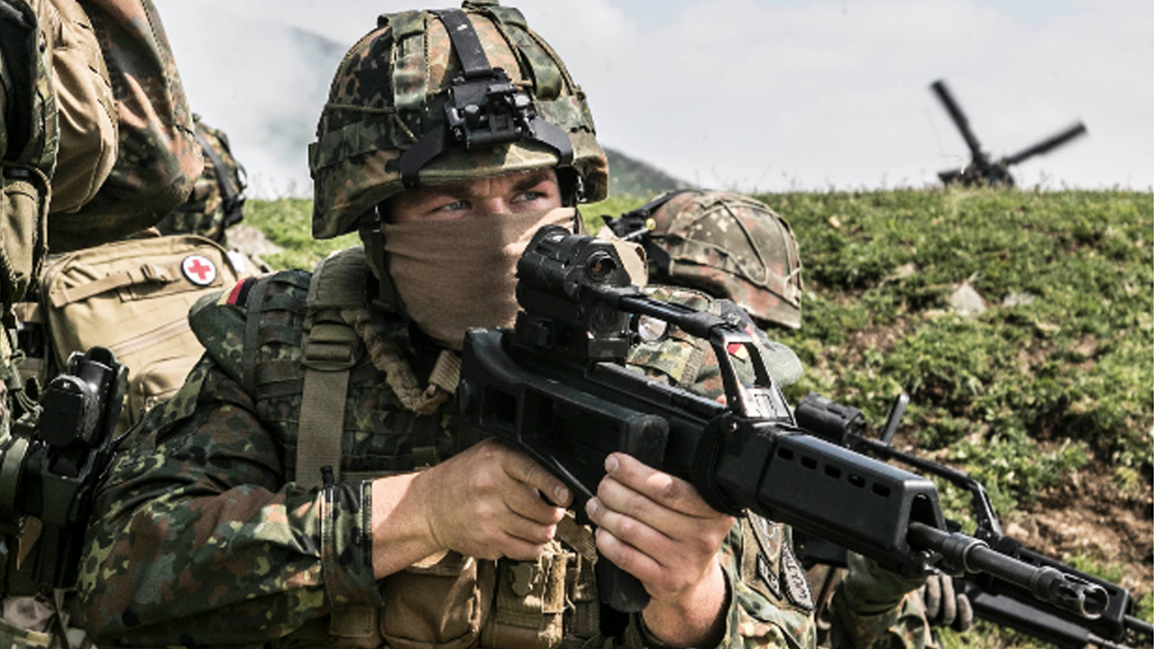 Will Germany Become the Military Power it Once Was?