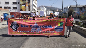 Bolivian Mine Workers Strike Against one of World's Largest Mining Corporations