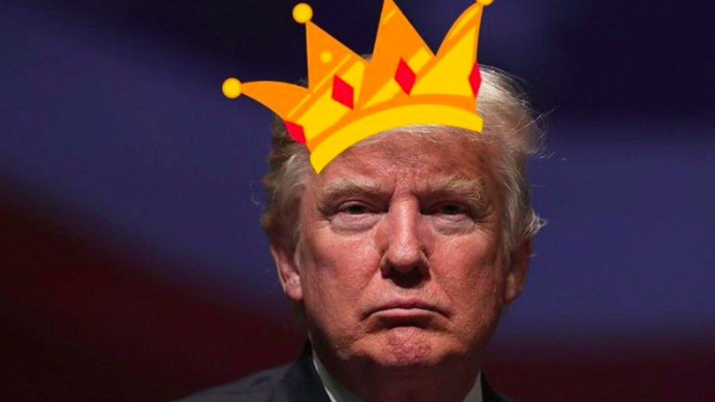 "Trump Tweets About Disloyal Jews, Then Tweets He's ""King of Israel"""