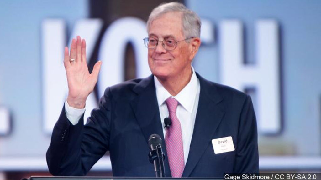 David Koch Is Dead, But His Legacy of Climate Denial Lives On