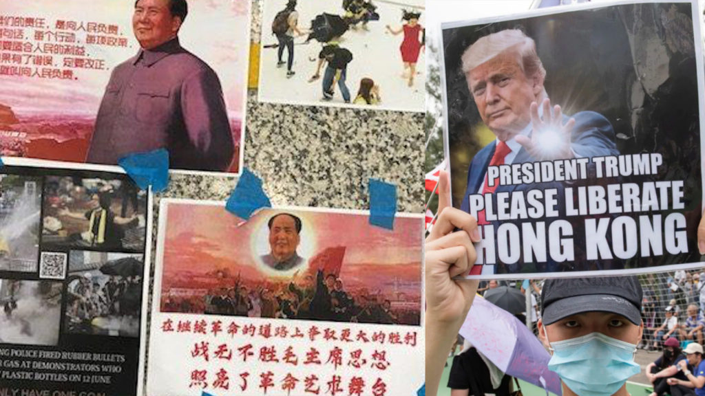 Why Are Hong Kong Protesters Asking Trump for Help?