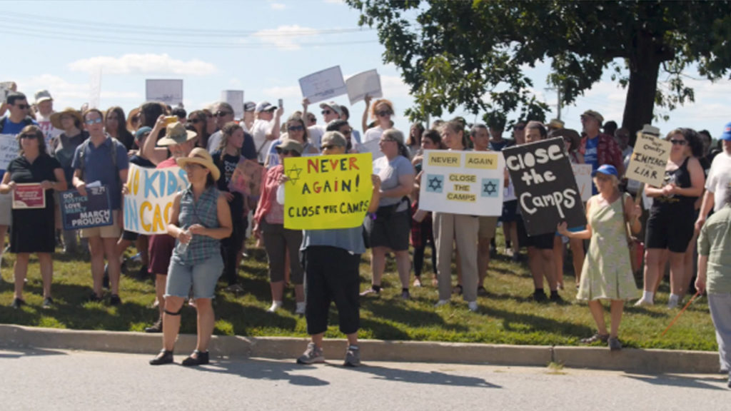 American Jews Lead Nationwide Protests to #CloseTheCamps