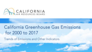 California Releases Misleading Greenhouse Emissions Report