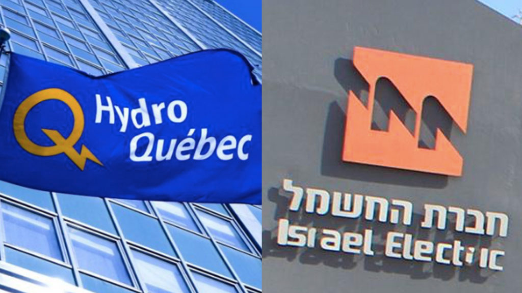 Hydro-Quebec Ends Cyber-Security Agreement With Israel Electric Corporation