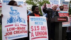 Bernie Sanders' Union Platform Calls for Class Struggle