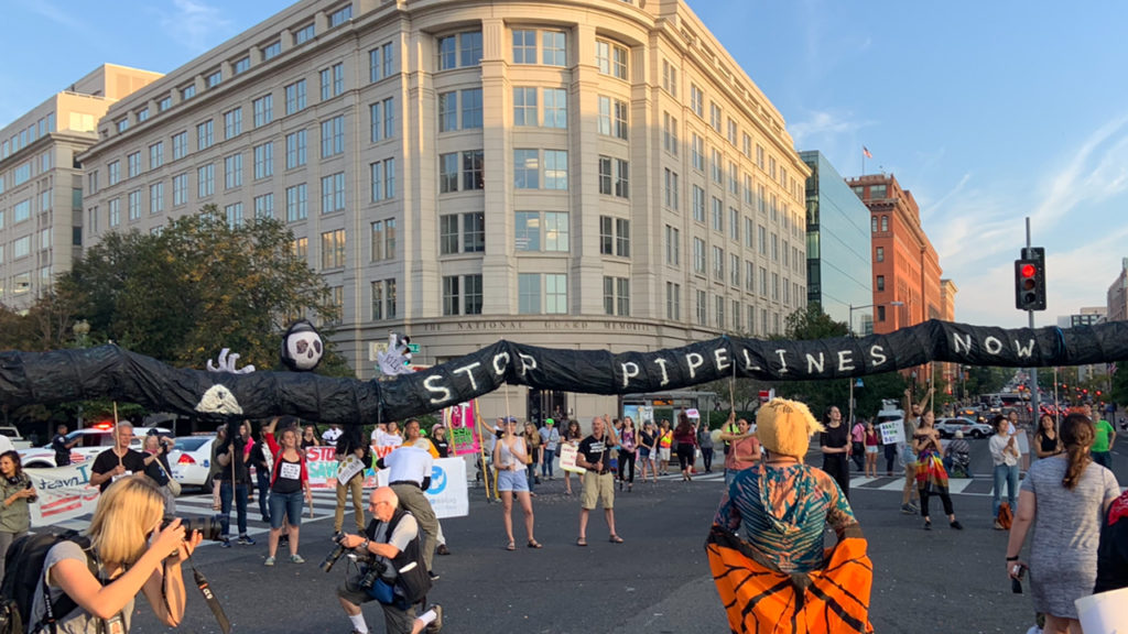 Dozens Arrested as Climate Activists #ShutDownDC