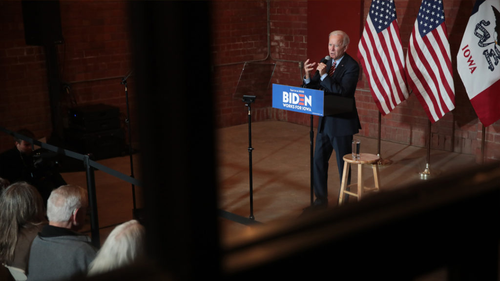 Joe Biden Claims He Started Out At A Historically Black College