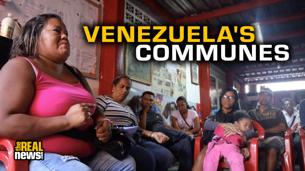 A commune meeting in Carapita, Venezuela. Photographer: Michael Fox