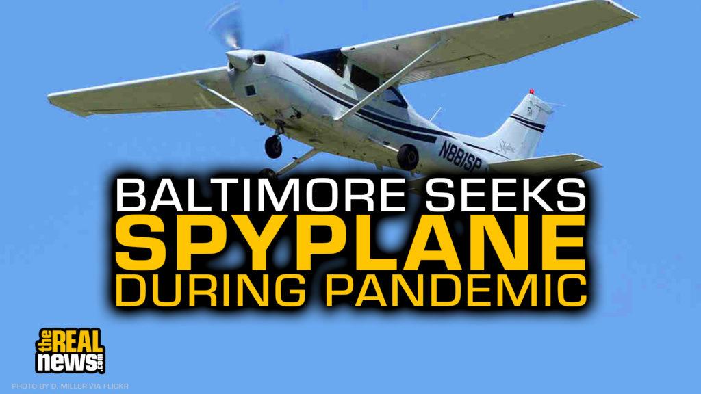 CESSNA 182S Skylane. Batimore's spy plane program uses single-engine Cessna aircraft. D. Miller/Flickr