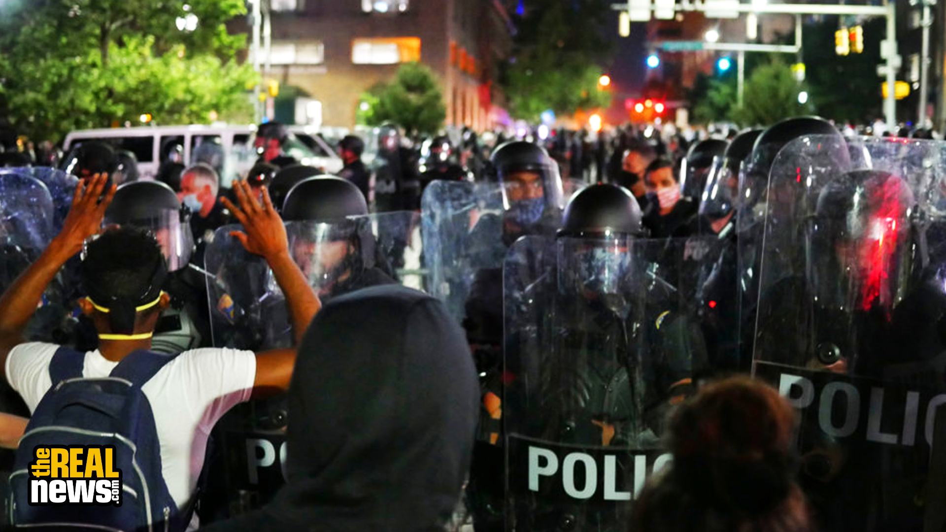 Police Intensify Repression Of Protests Demanding Justice For George Floyd