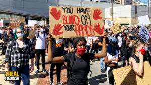 Thousands In Baltimore March For Justice For George Floyd