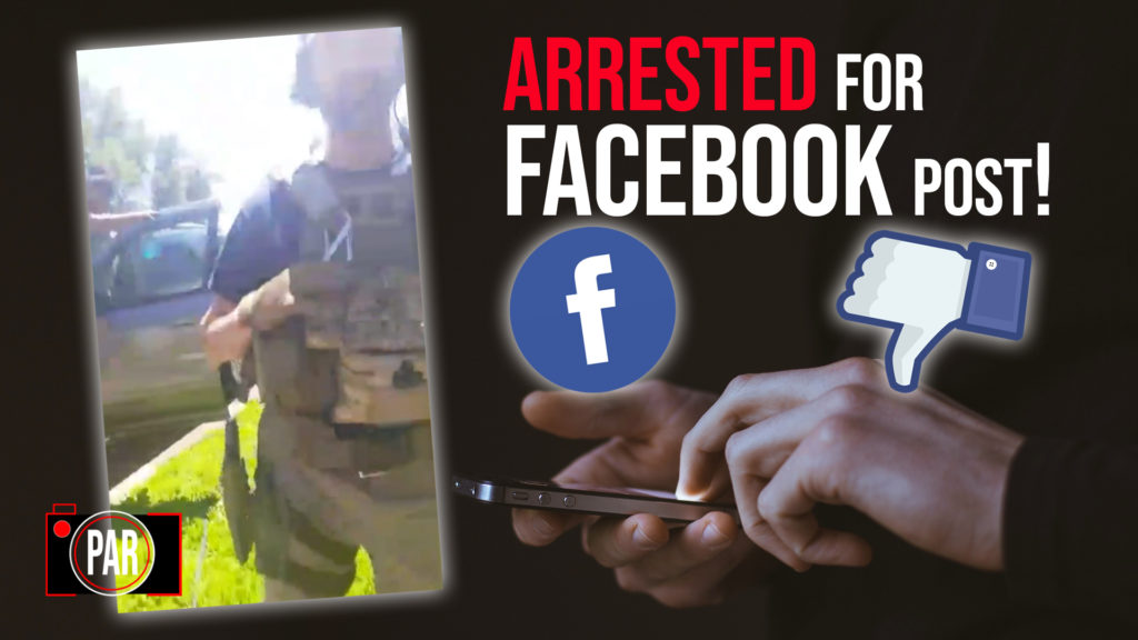 Police Are Arresting Protesters Over Facebook Posts—And It's Just The Beginning