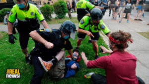 Anti-Racism Protesters Face Ongoing Police Violence