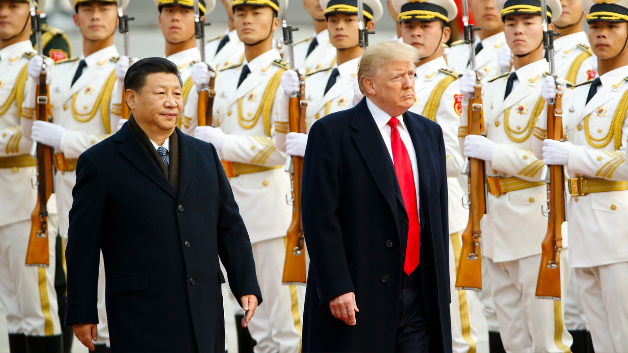 Trump's cold war with China is heating up